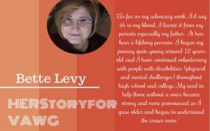 HERstoryForVAWG: Bette Levy