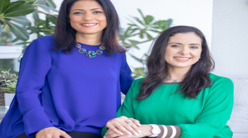 Samar and Noha, Co-Founders She is Arab