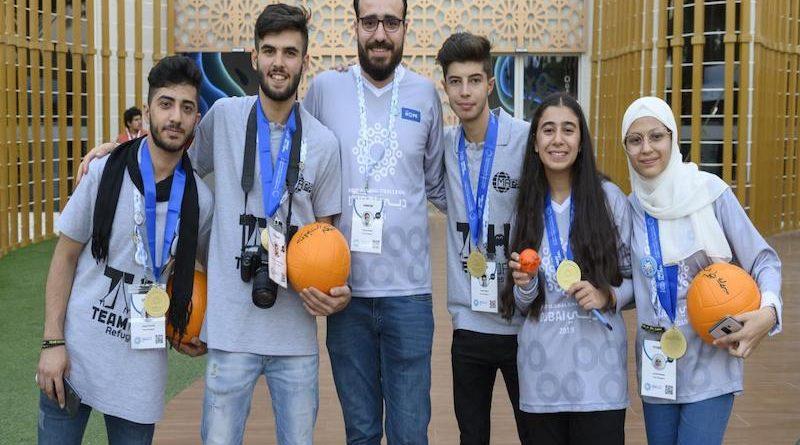 Refugee Team Hope Wins Robotics Challenge