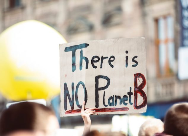protest about climate change