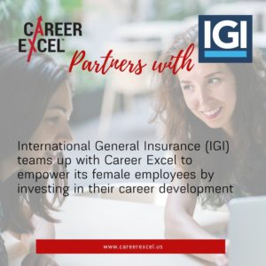 International General Insurance teams up with Career Excel to empower female employees