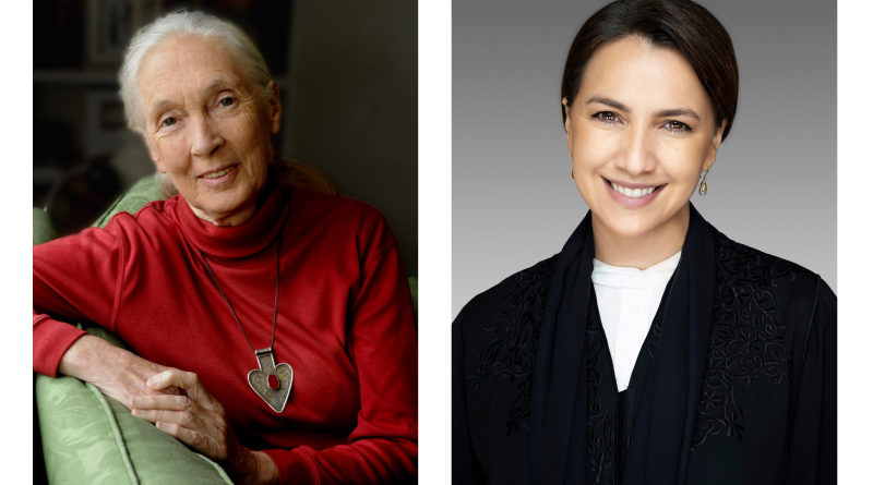 Dr Jane Goodall, H E Mariam bint Mohammed Al Mheiri in conversation on pandemic, sustainable issues