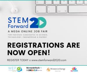 : STEM Forward 2020, Pakistan's largest digital job fair to be held on Nov 20-21