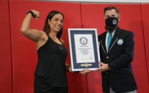 Lebanese amputee athlete breaks the Guinness World Records™ title to mark the launch of GWR's Impairment Records Initiative