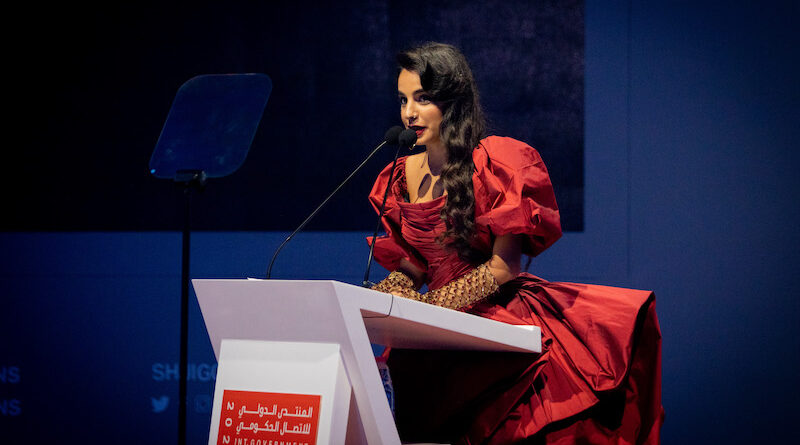 Arab youth icon Remie Akl makes a bold call for change at International Government Communication Forum 2021